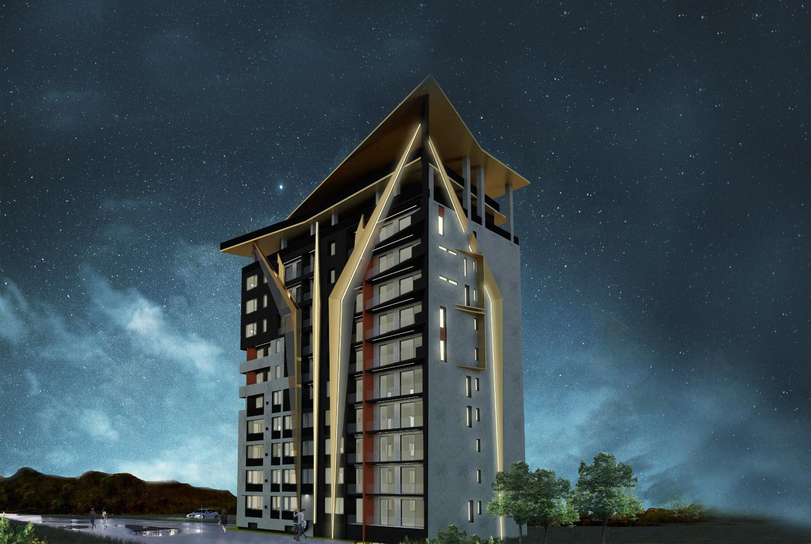 MANDACHI TOWER - Apartamente de lux Suceava